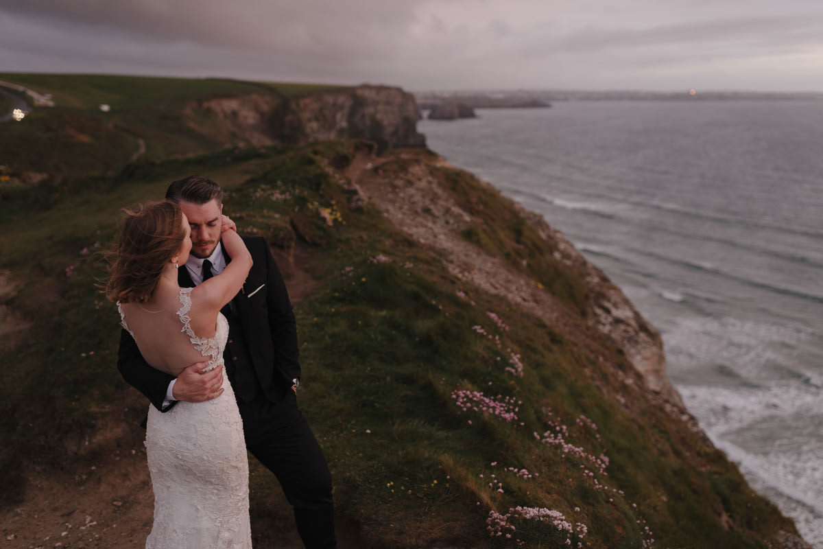 Watergate Bay Hotel Wedding
