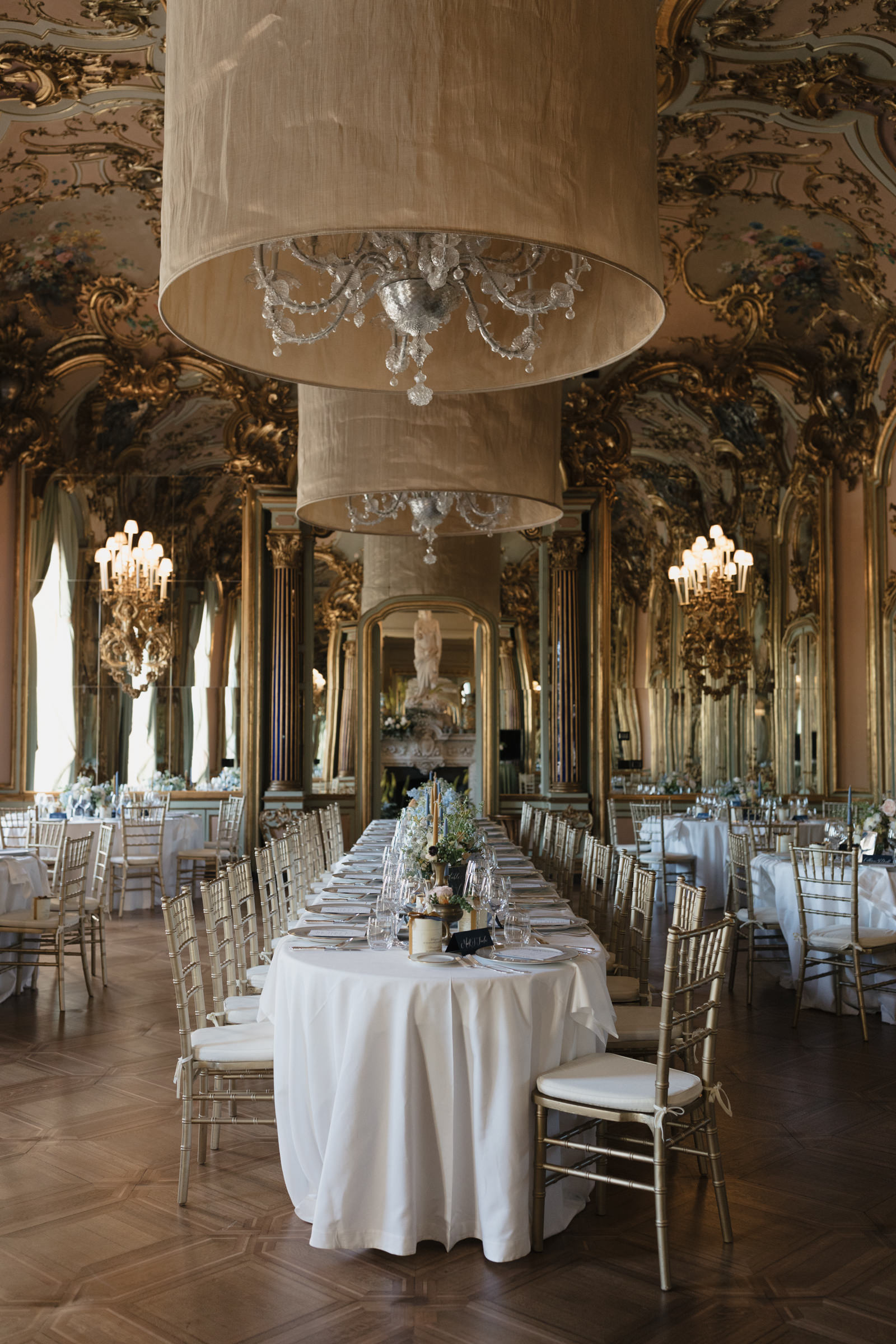 Wedding Table decoration at Villa Cora