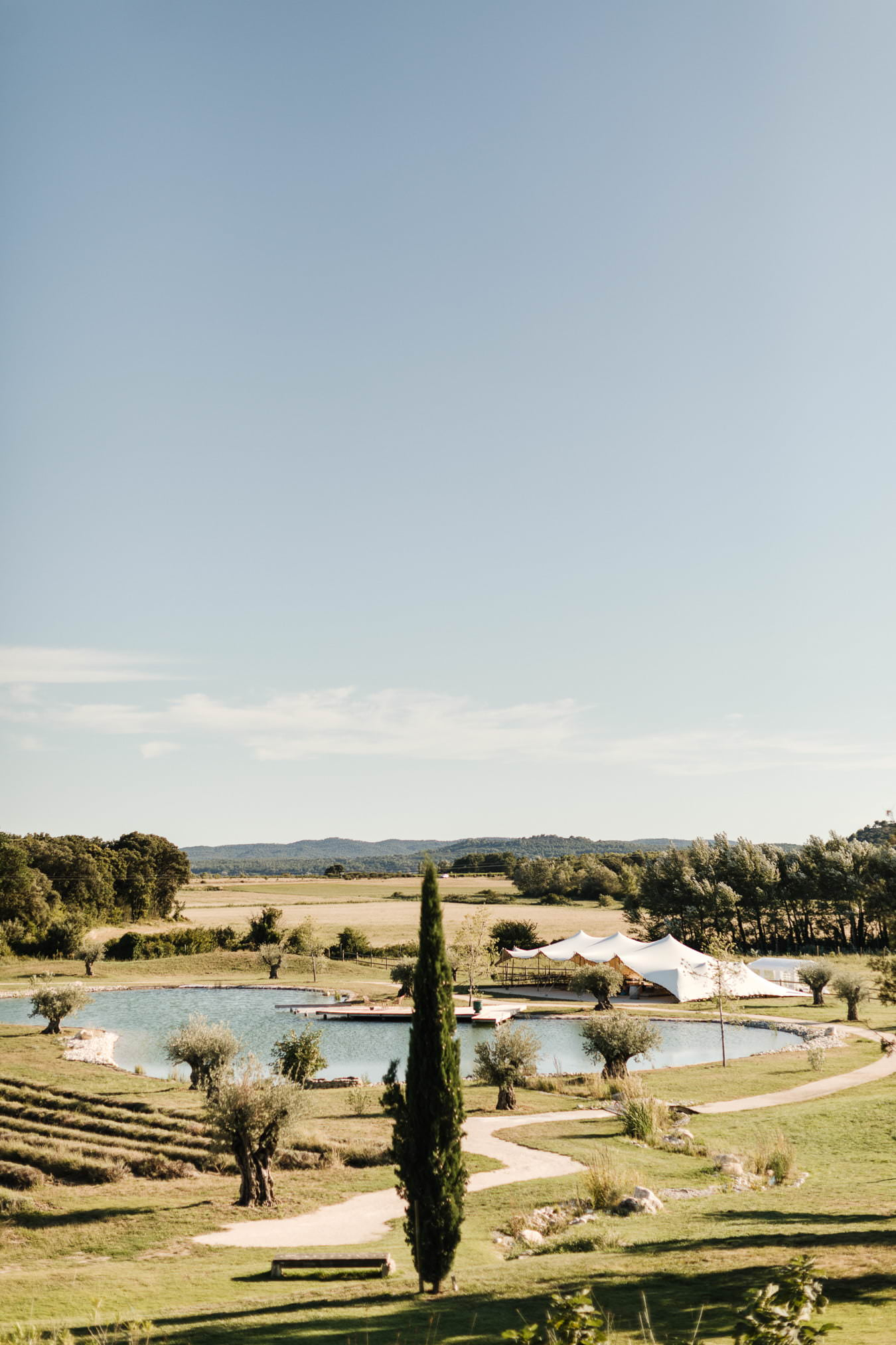 Mariage aux domaines de Patras en Provence